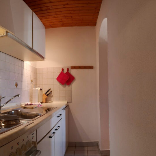 Bergblick Küche 540x540 - Ferienwohnung Bergblick